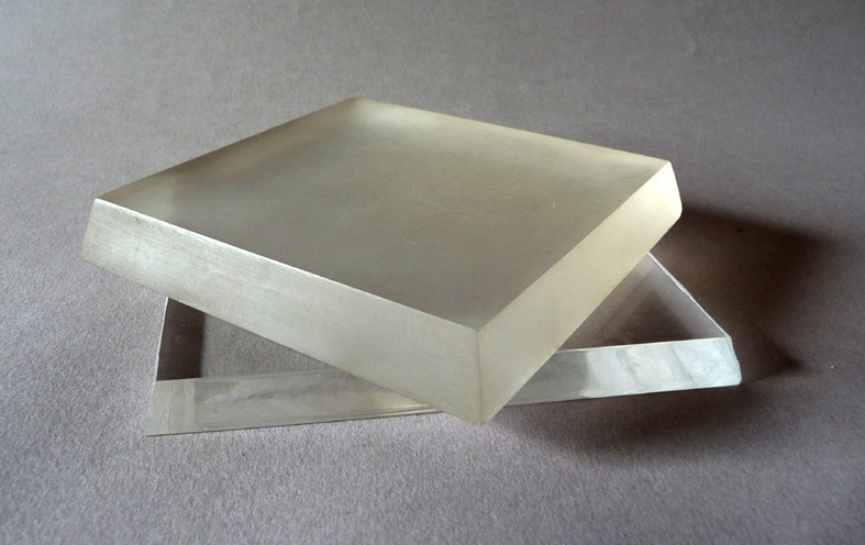 Bases Plexiglas transparent ou dépoli