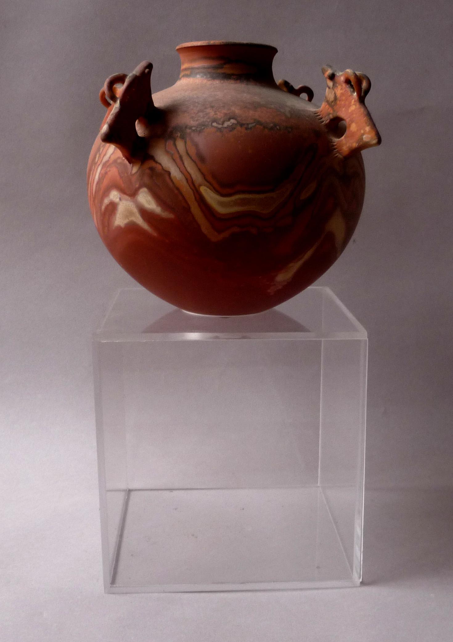 cube plexiglas pour céramique Jean Grison