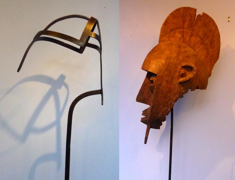 soclage acier heaume africain