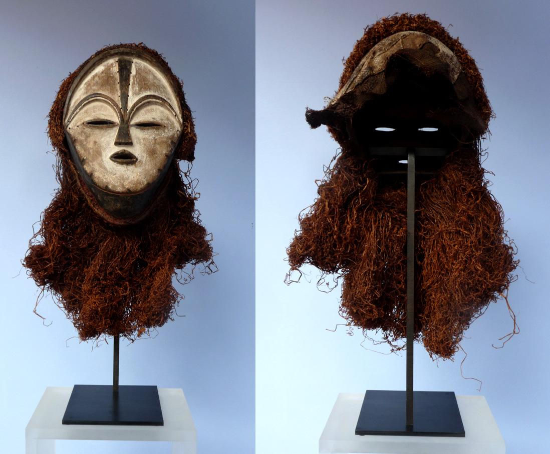 soclage laiton et base acier masque africain 1