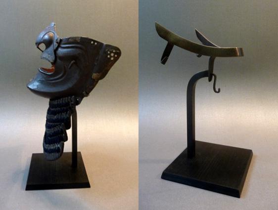 soclage laiton masque samourai