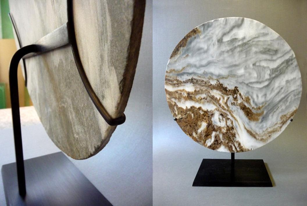 soclage laiton pierre de lune