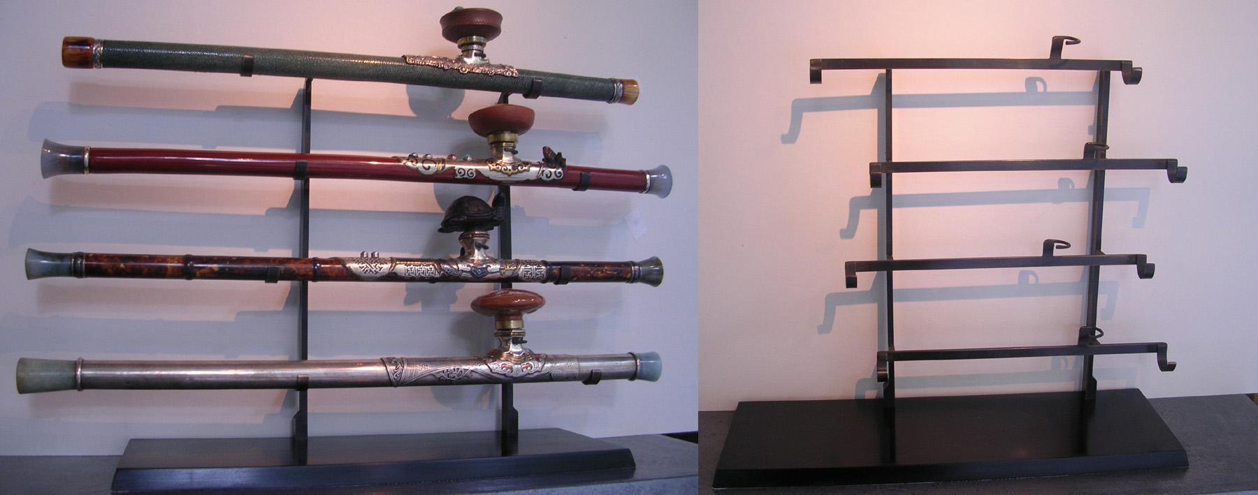 soclage ratelier à pipes